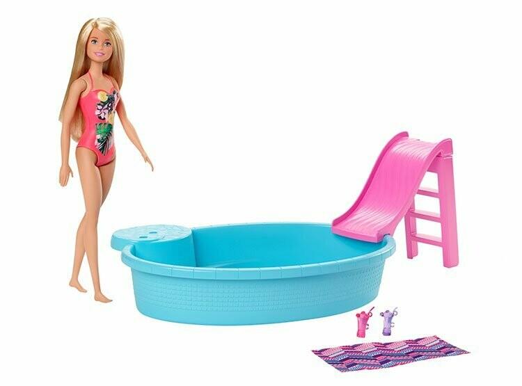 Barbie Piscina con Muñeca