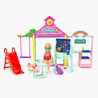 Barbie Chelsea Juego Escolar