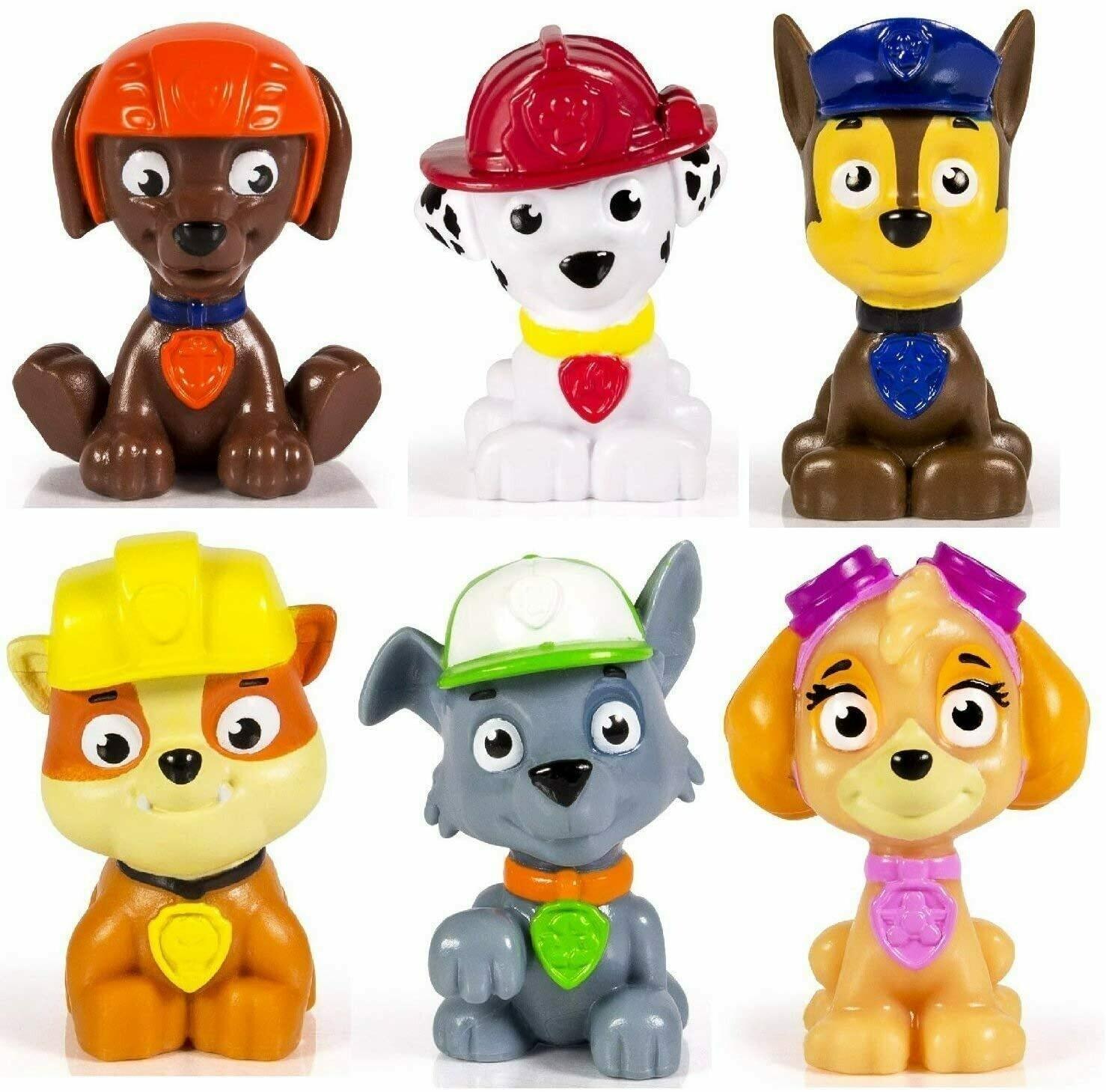 Paw Patrol 6 Mini Figuras