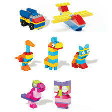 Mega Block Bloques pequeños 60 piezas