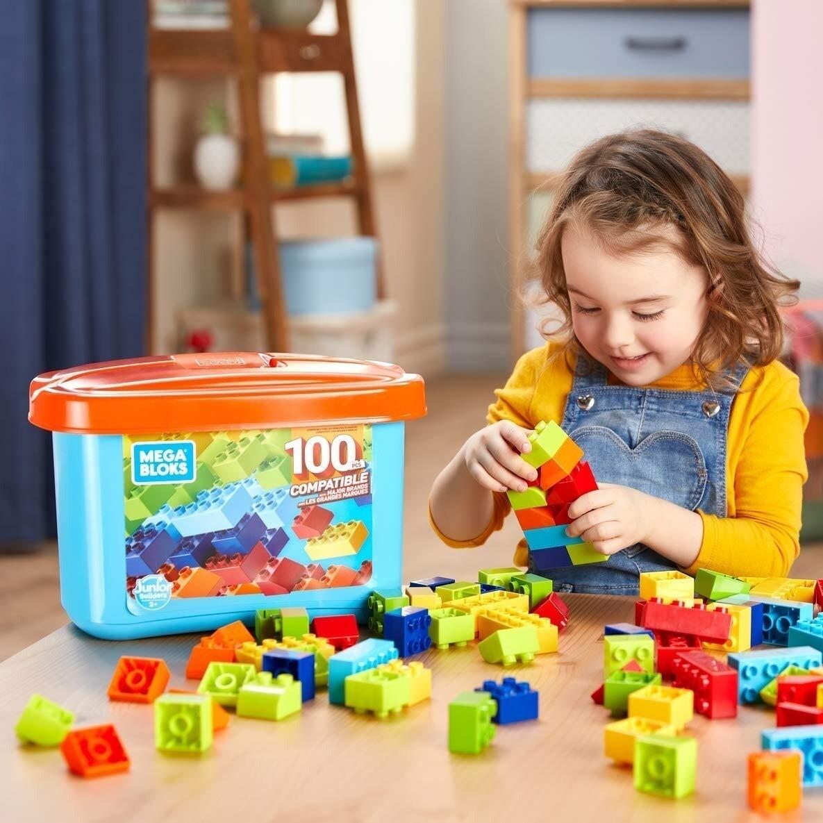 Mega Blocks - Bulk Small Mini Tub