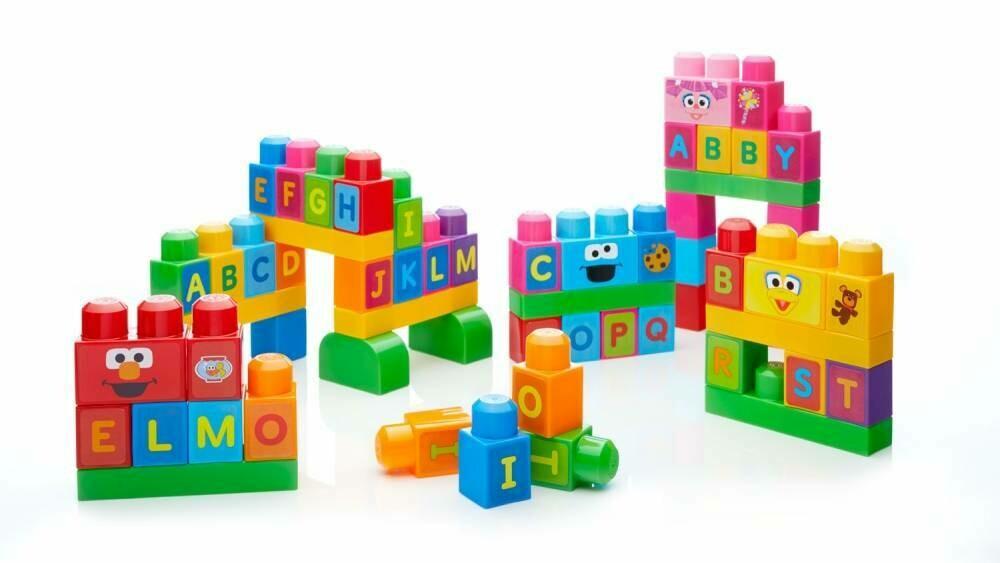 Mega Blocks Aprende el Abecedario con Plaza Sesamo