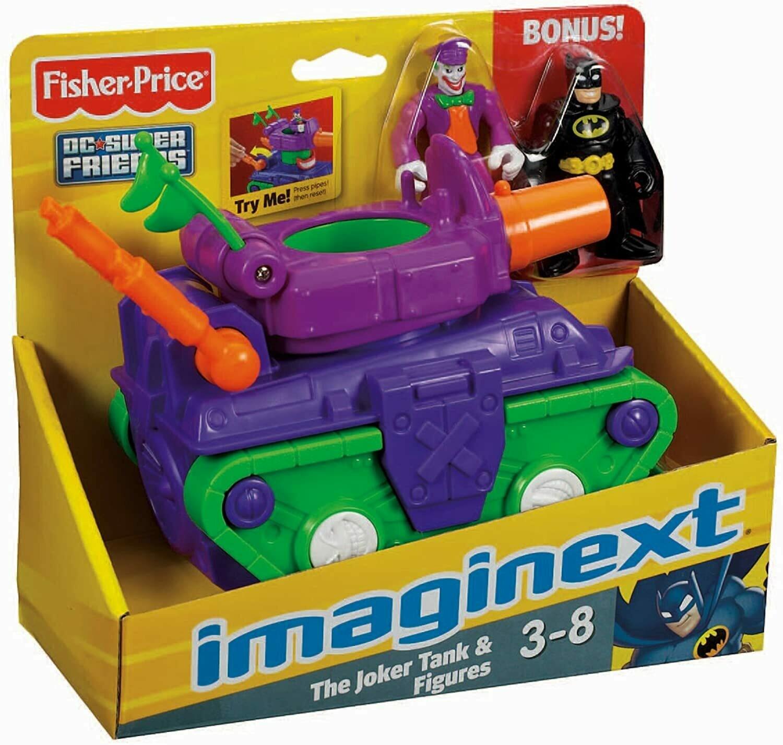 Fisher Price - Imaginext Super Amigos Vehiculos