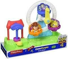 Fisher Price - Little People Toy Story 4 Rueda de la Fortuna