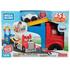 Mega Blocks - Vehiculo de Construccion Transformable de 12 piezas