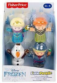 Little People - Frozen Figuras Pack x 4
