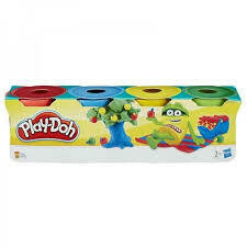 Play Doh - Mini Pack de 4 unidades