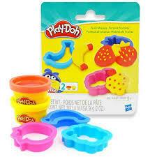 Play Doh - Pack de Formas Cortadores de Frutas