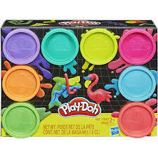Play Doh - Pack de 8 Unidades
