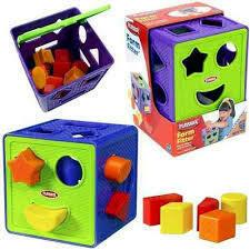 Play Skool - Cubo de Formas