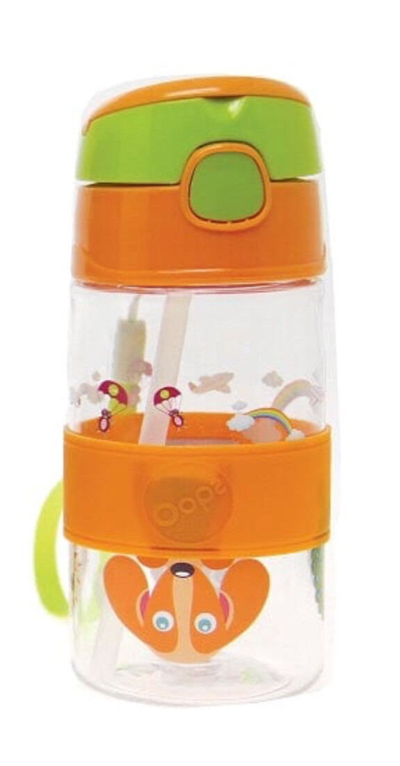 Cool Straw Bottle! Tomatodo Deportivo