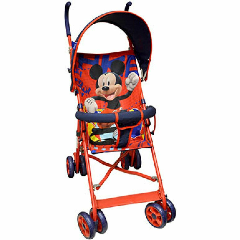 Coche Baston de Mickey Mouse con Barra Frontal