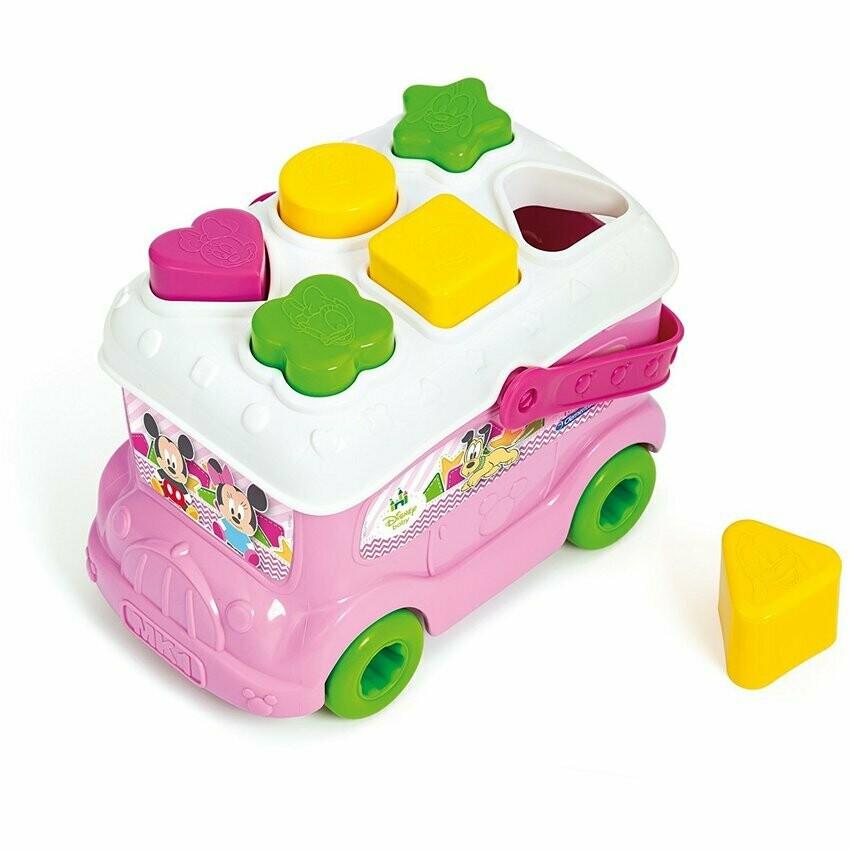 Autobus con Piezas para Encajar de Minnie Mouse