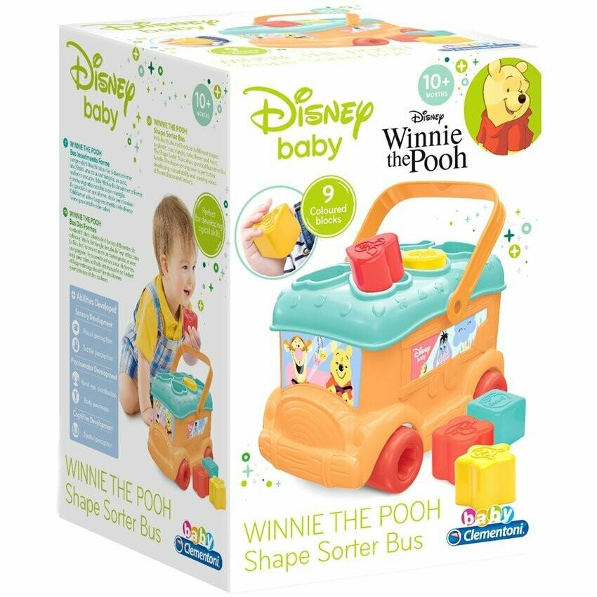 Autobus con Piezas para Encajar Winnie The Pooh