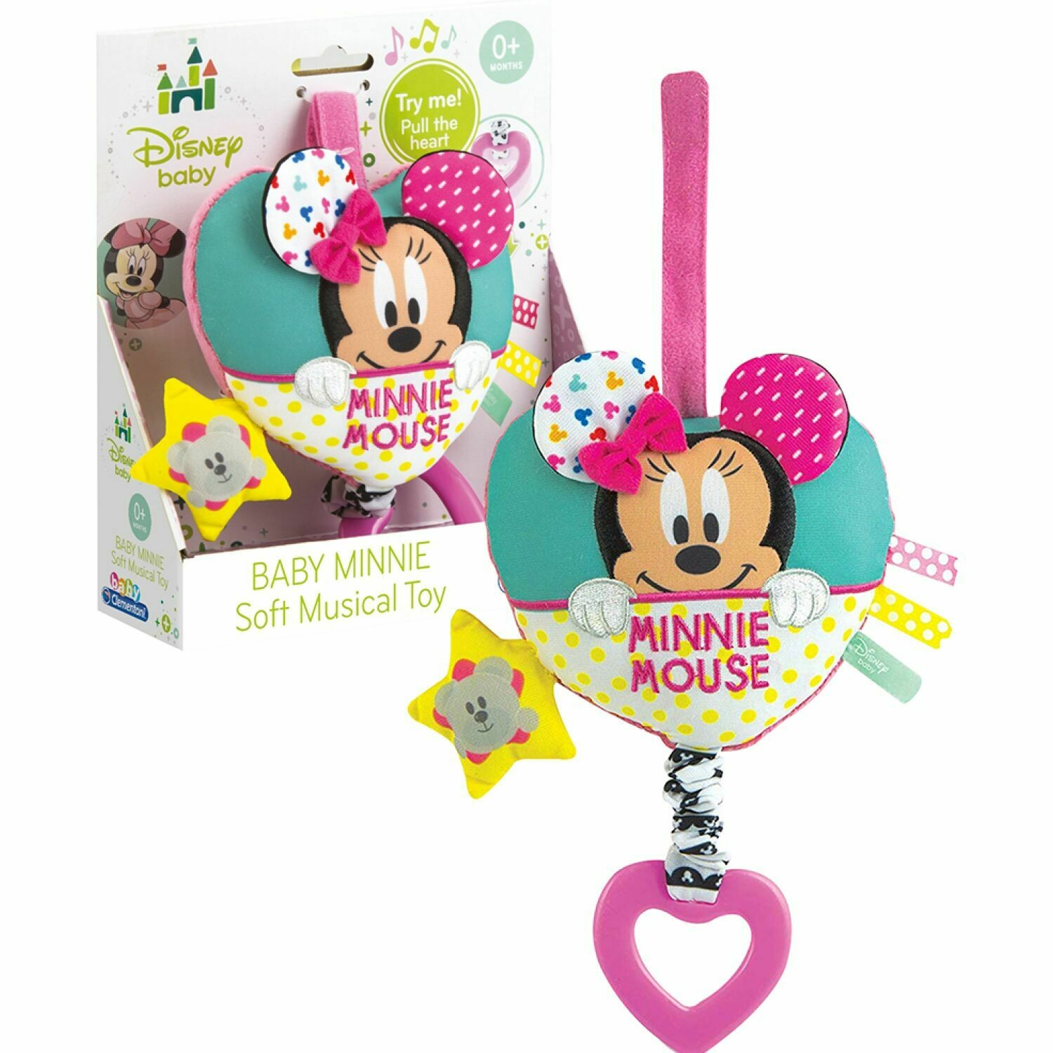 Sonajero Musical Minnie Mouse