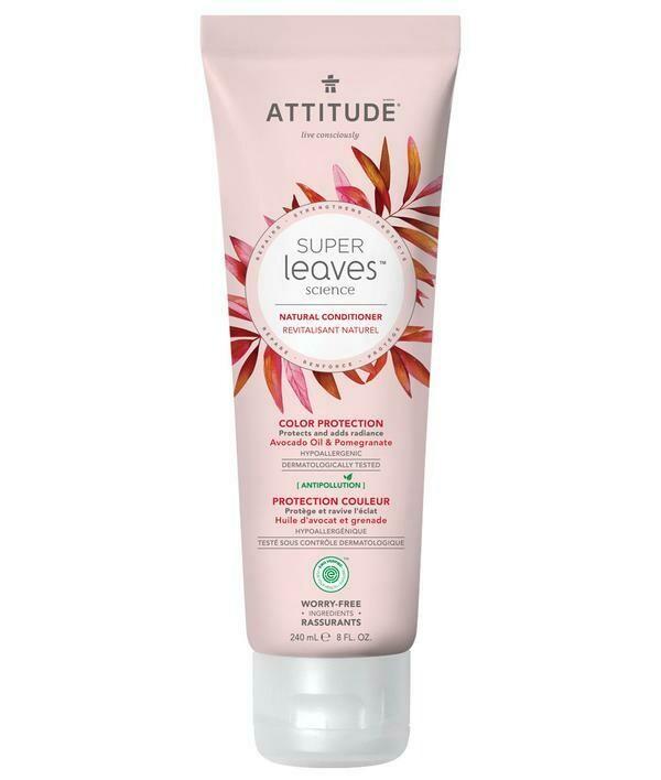Acondicionador Natural Attitude - Proteccion Color 240 ml