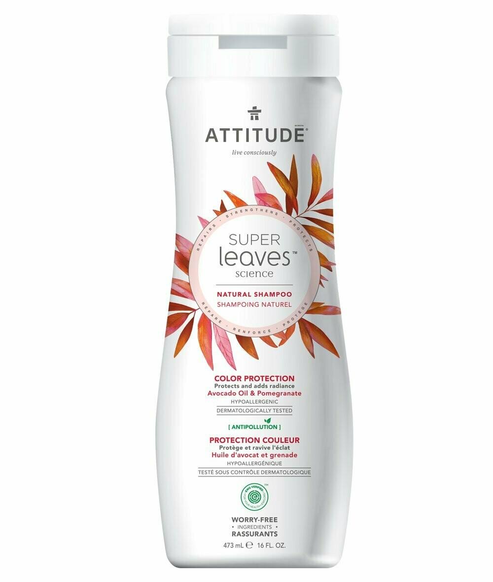 Shampoo Natural Attitude - Proteccion Color 473 ml