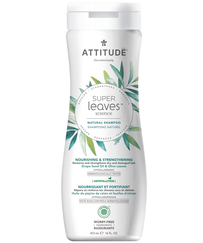 Shampoo Natural Attitude - Nutre y Fortalece 473 ml