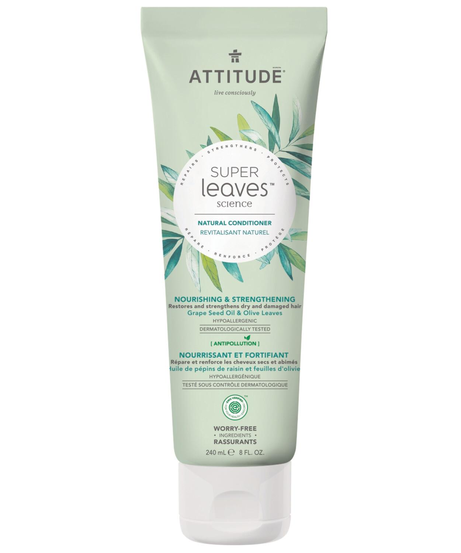 Acondicionador Natural Attitude - Nutre y Fortalece 240 ml