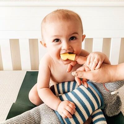 FridaBaby - Cepillo dental mordedor para bebes - SmileFrida Finger Brush