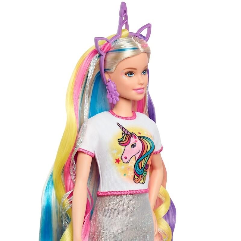 Barbie - Peinados de Fantasia