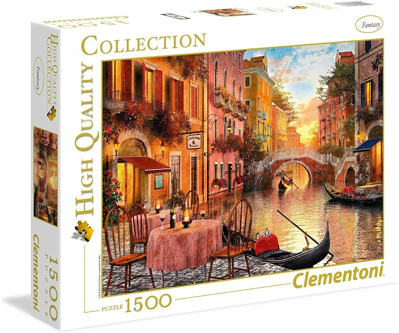 Rompecabezas Modelo Venecia x 1500 piezas