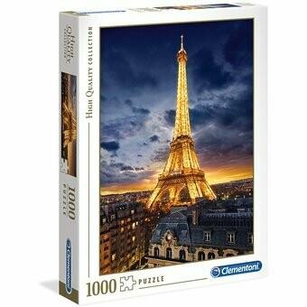 Rompecabezas Modelo Torre Eiffel x 1000 piezas