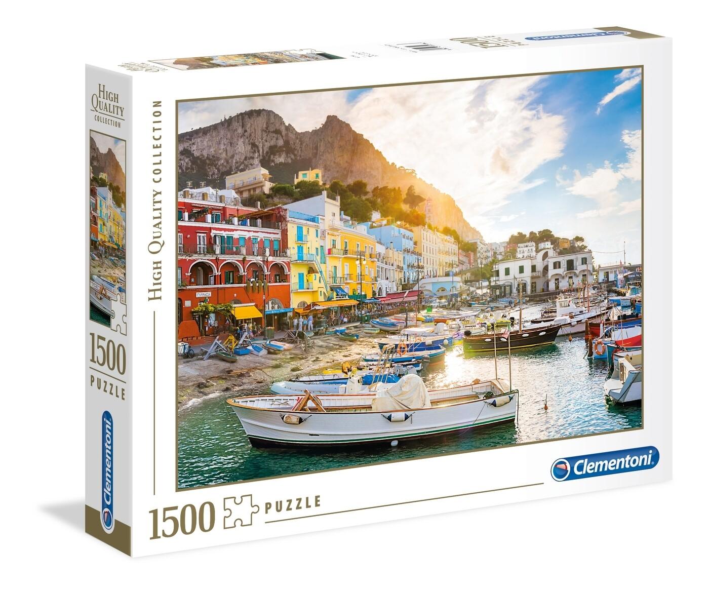Rompecabezas Modelo Capri x 1500 piezas