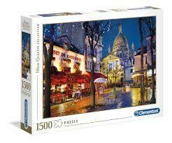 Rompecabezas Modelo Paris - Montmartre x 1500 piezas