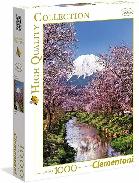 Rompecabezas Modelo Montañas Fuji x 1000 piezas