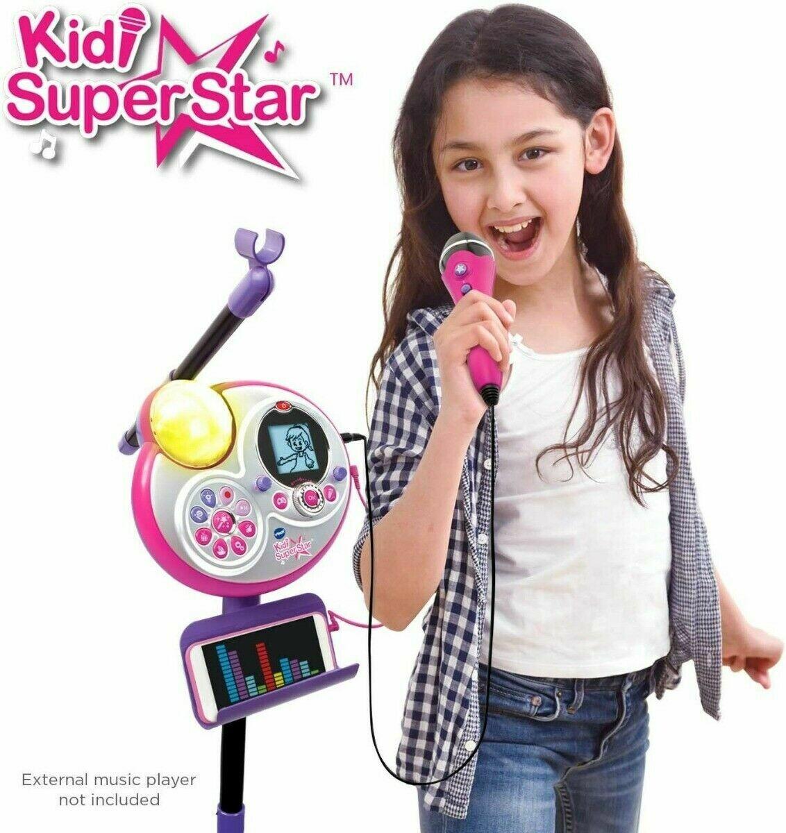 Vtech Kidi Super Star - Micrófono de karaoke
