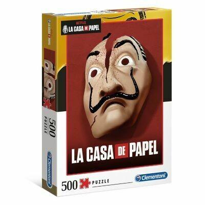 Rompecabezas La Casa De Papel 2 x 500 Piezas