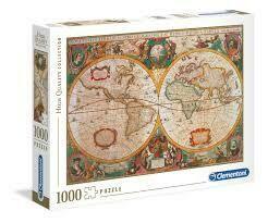 Rompecabezas Mapa Antiguo x 3000 Piezas