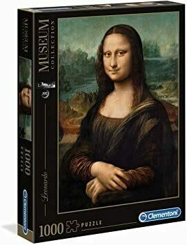 Rompecabezas Mona Lisa x 1000 Piezas