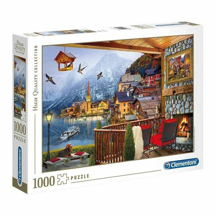Rompecabezas Hallstatt Austria x 1000 Piezas