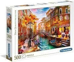 Rompecabezas Atardecer en Venecia x 500 Piezas
