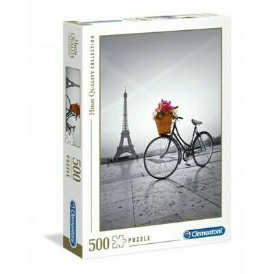 Rompecabezas Paseo Romantico en Paris x 500 Piezas