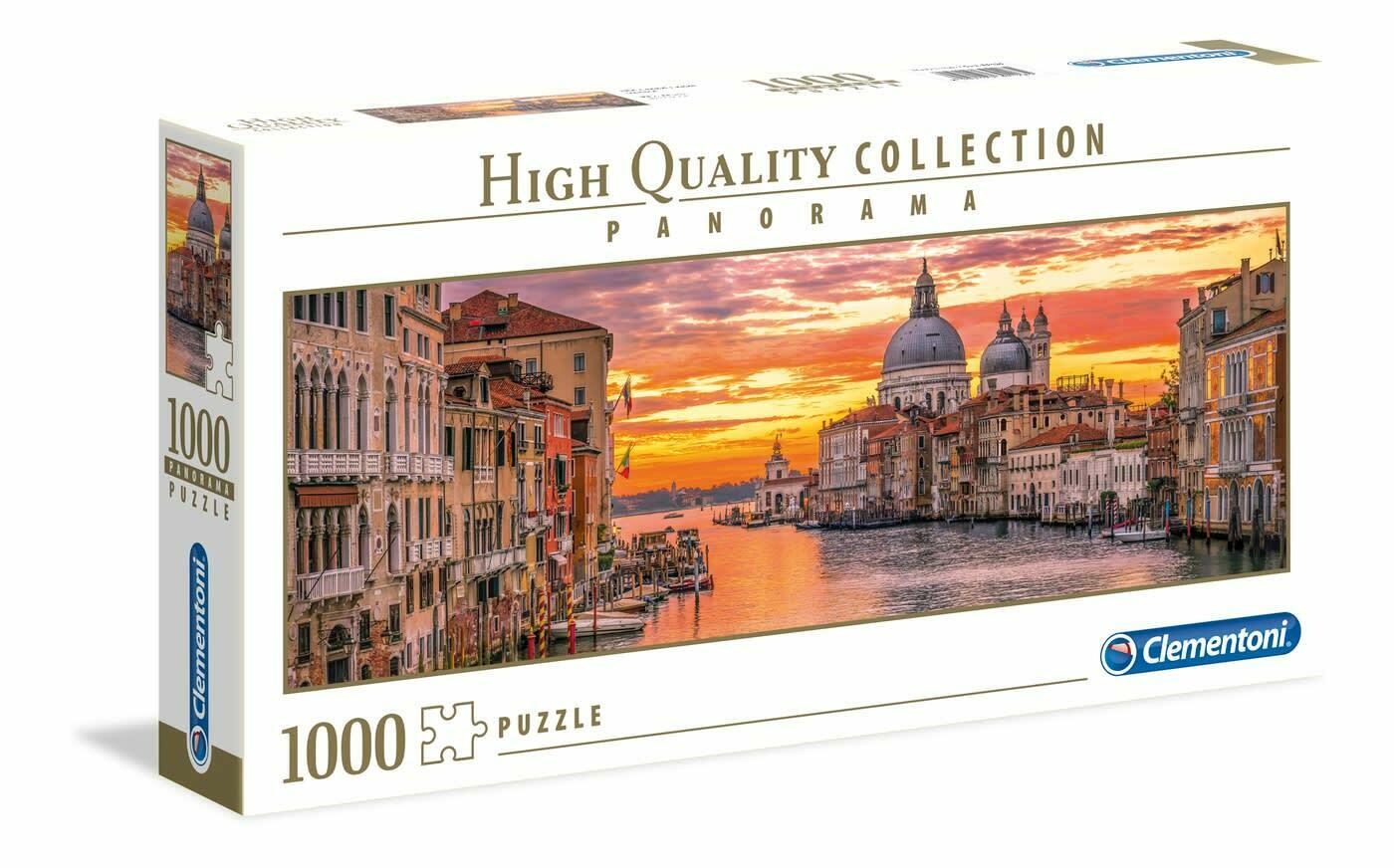 Rompecabezas Canal de Venecia x 1000 Piezas