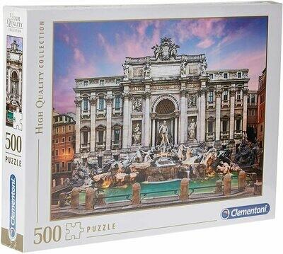 Rompecabezas Fontana de Trevi x 500 Piezas