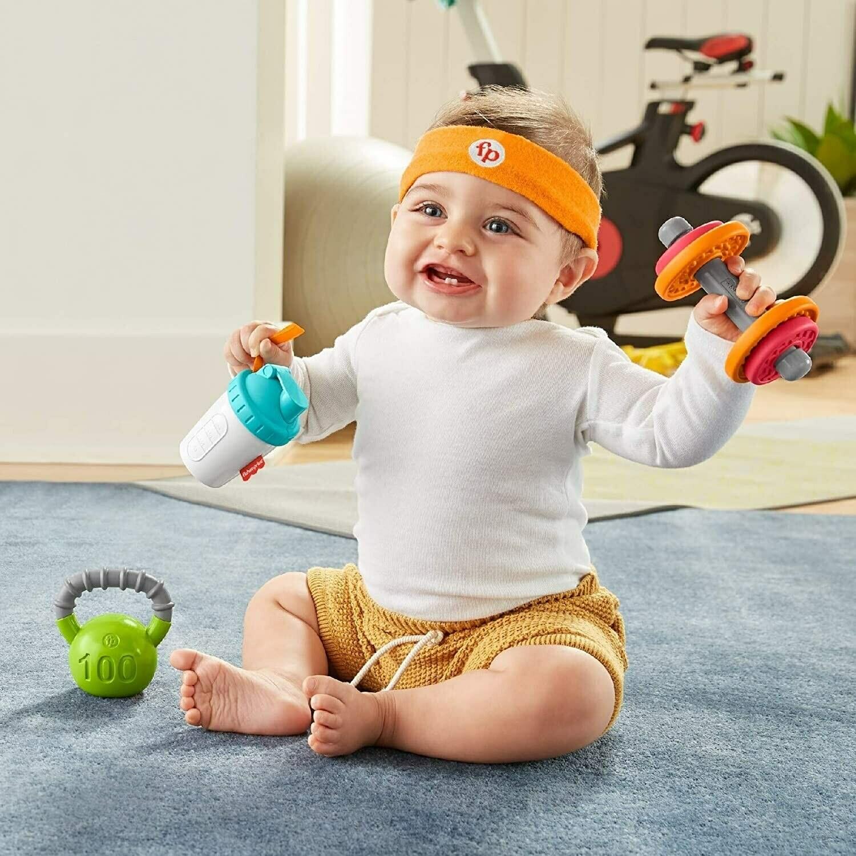 Fisher Price - Conjunto de Regalo Baby Biceps