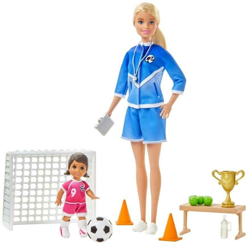 Barbie Entrenadora de Futbol