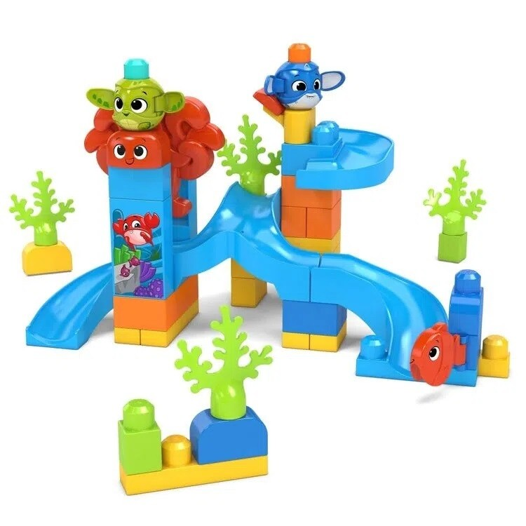 Mega Blocks - Aventura Submarina de 50 piezas