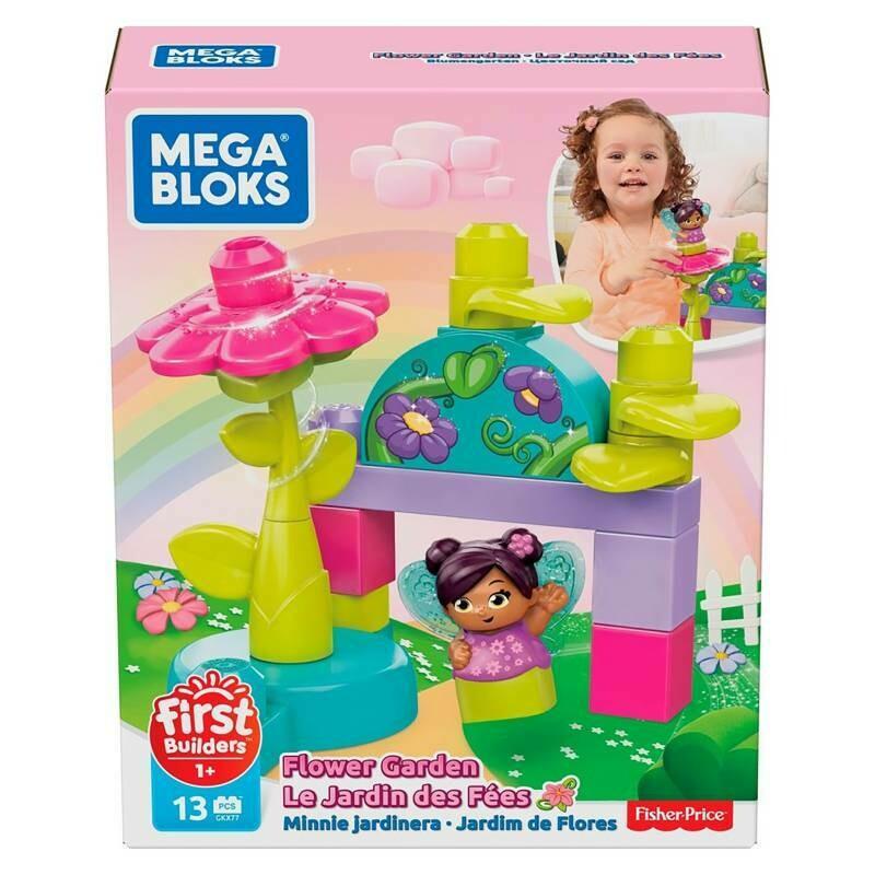 Mega Blocks Hadas de las Flores x 13 piezas