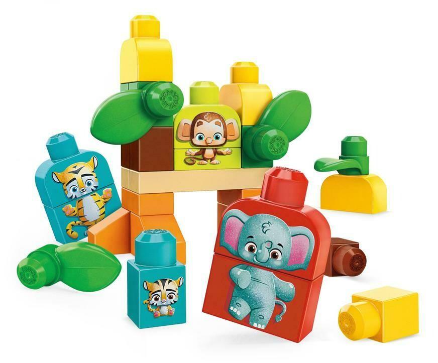 Mega Bloks Amigos del Safari x 30 piezas