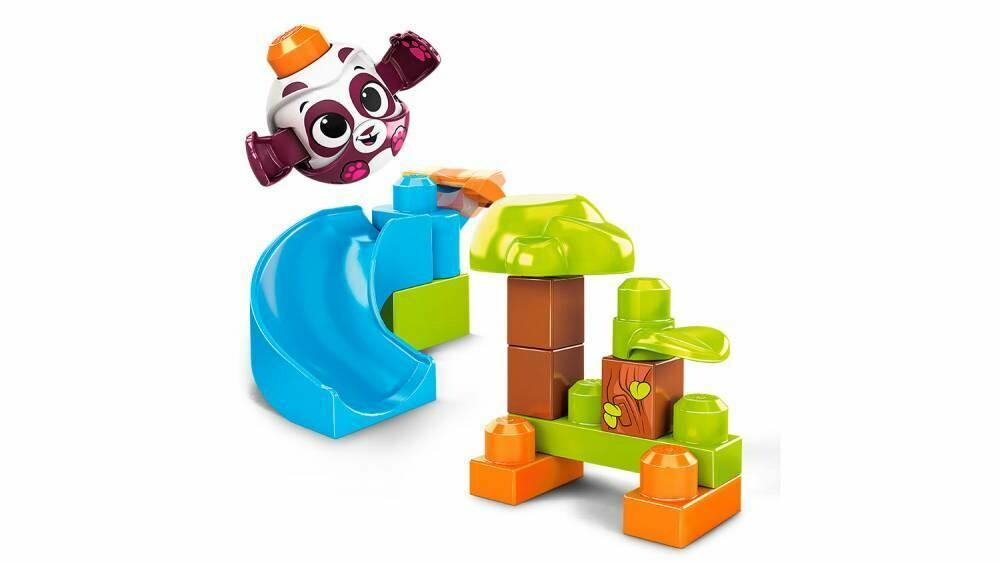 Mega Blocks Tobogan Panda x 14 piezas