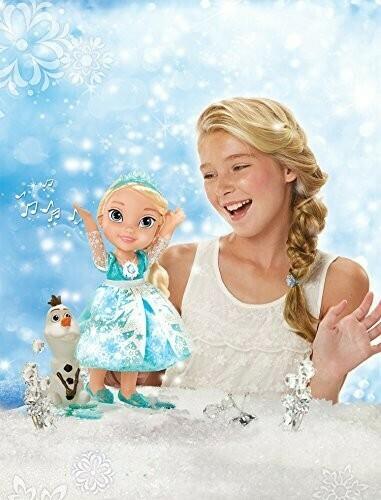 Princesa Elsa con Vestido Magico