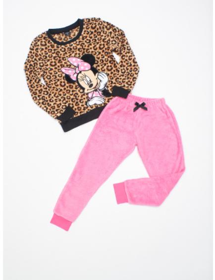 Pijama Mama e Hija de Minnie Coral Fleece