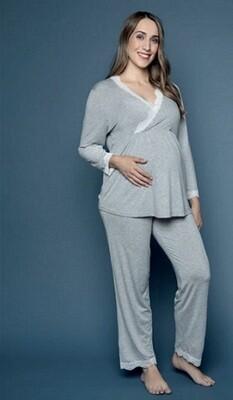 Pijama Viscosa de Maternidad