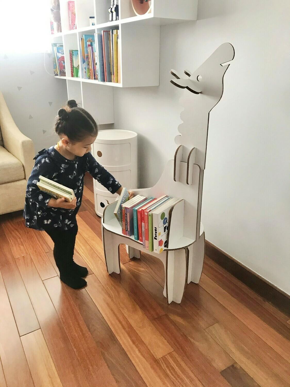 Mi Primera Biblioteca (Librero Jirafa+ 3 Libros)