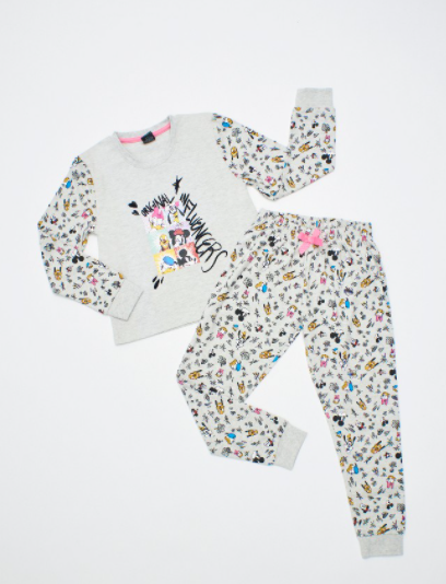 Pijama Mickey y sus Amigos de Algodon